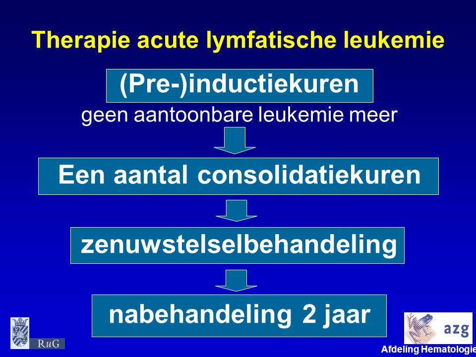 Therapie acute lymfatische leukemie