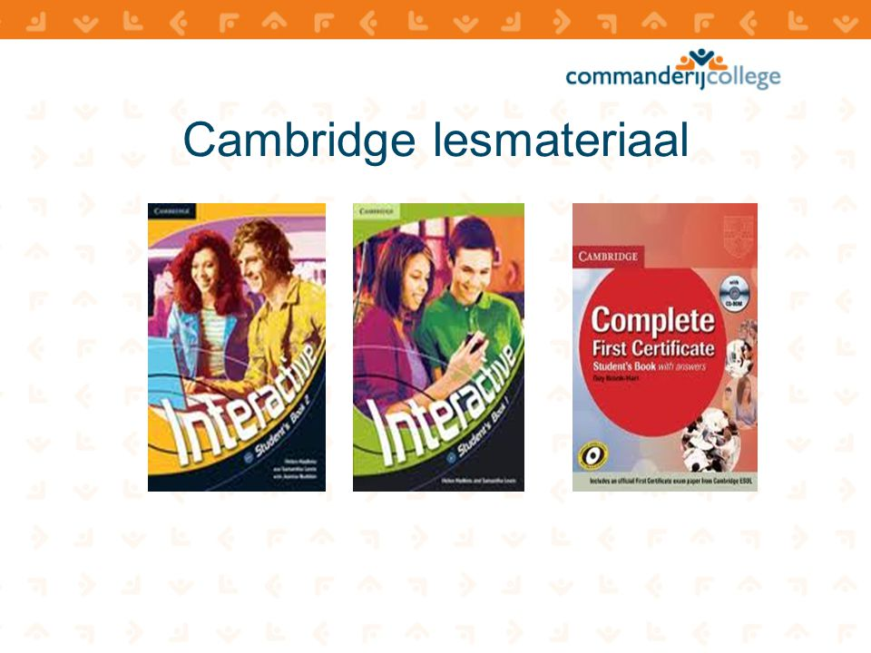 Cambridge lesmateriaal