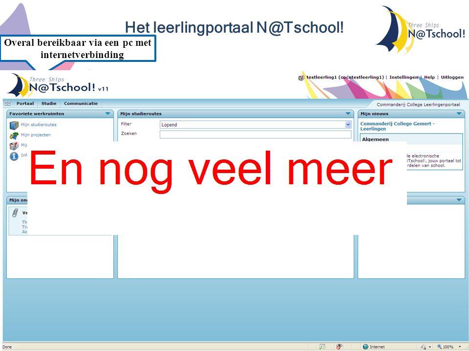 Het leerlingportaal N@Tschool!