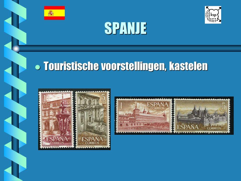 SPANJE Touristische voorstellingen, kastelen
