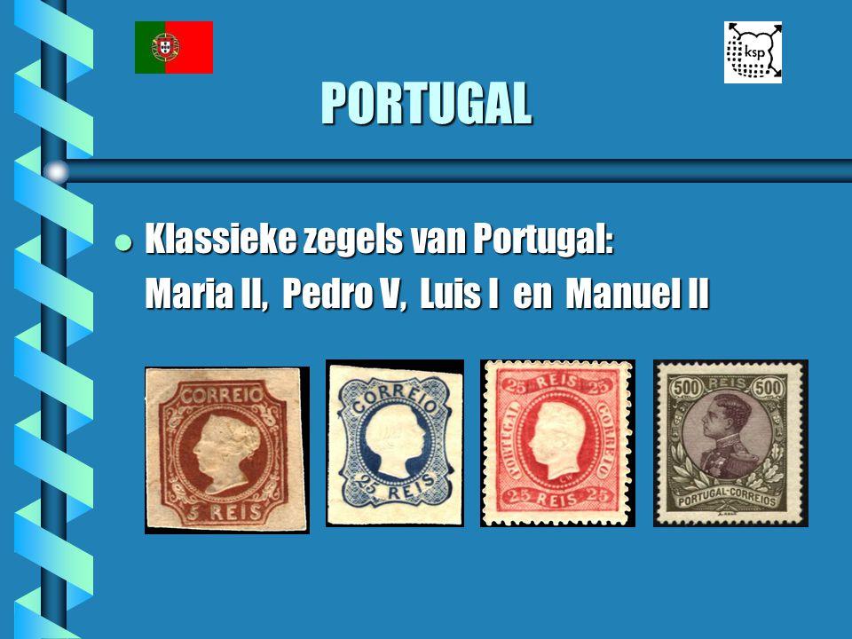 PORTUGAL Klassieke zegels van Portugal: