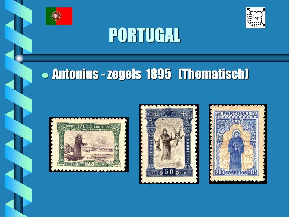 PORTUGAL Antonius - zegels 1895 (Thematisch)