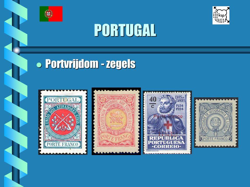 PORTUGAL Portvrijdom - zegels