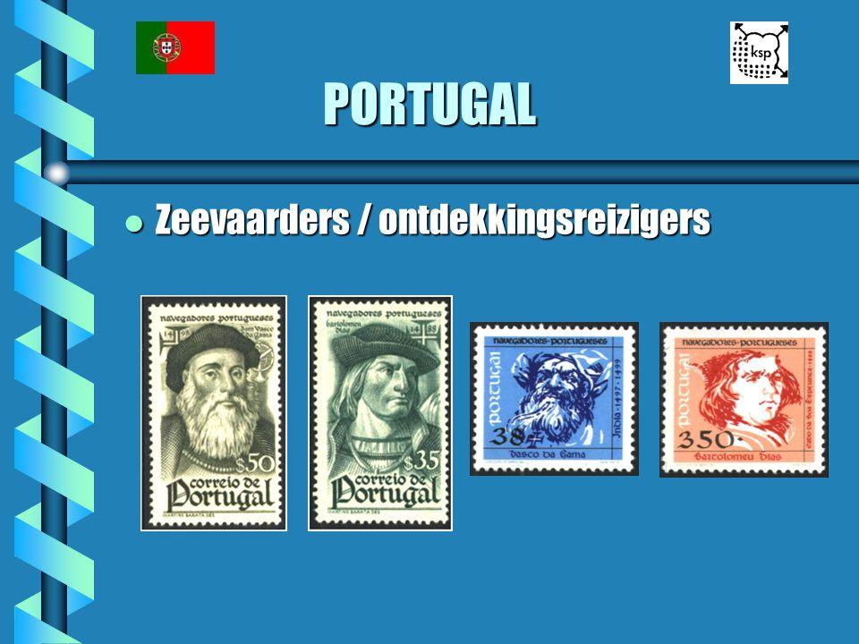 PORTUGAL Zeevaarders / ontdekkingsreizigers