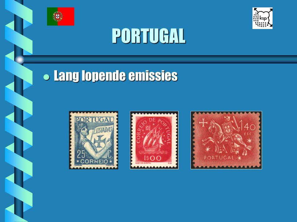 PORTUGAL Lang lopende emissies