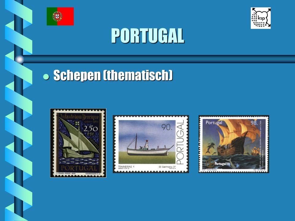 PORTUGAL Schepen (thematisch)