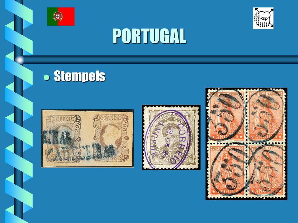 PORTUGAL Stempels