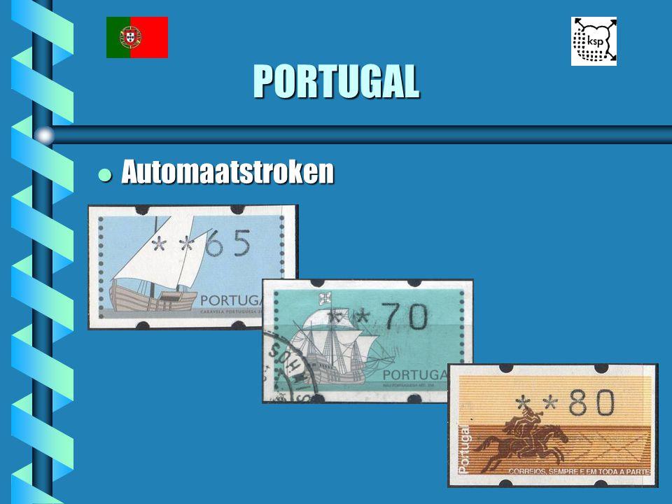 PORTUGAL Automaatstroken