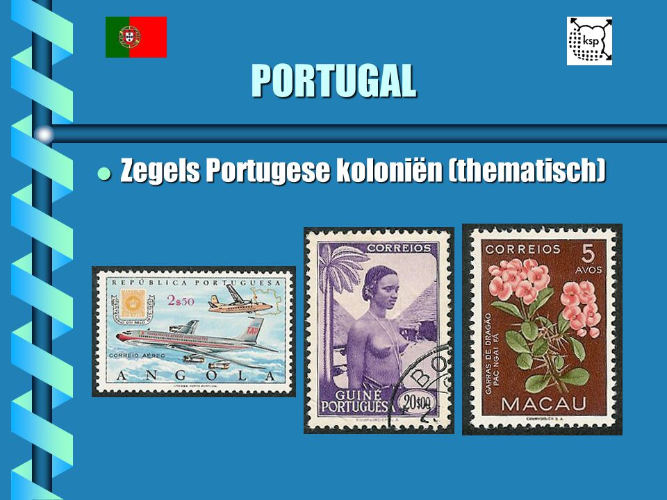PORTUGAL Zegels Portugese koloniën (thematisch)