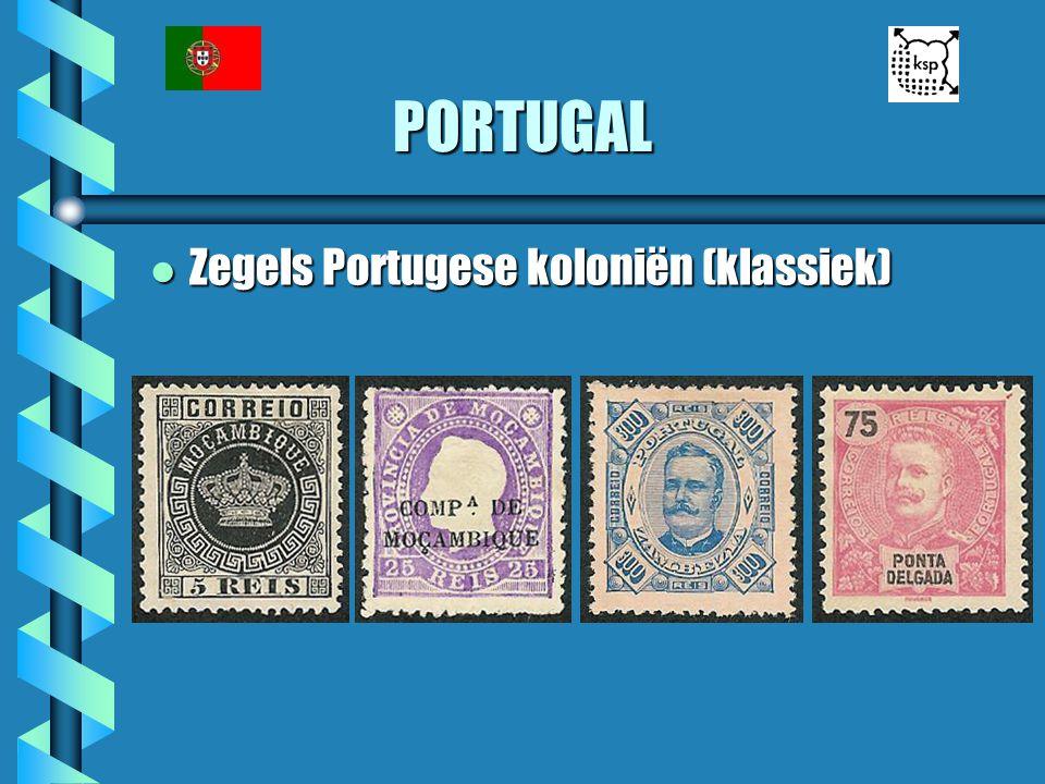 PORTUGAL Zegels Portugese koloniën (klassiek)