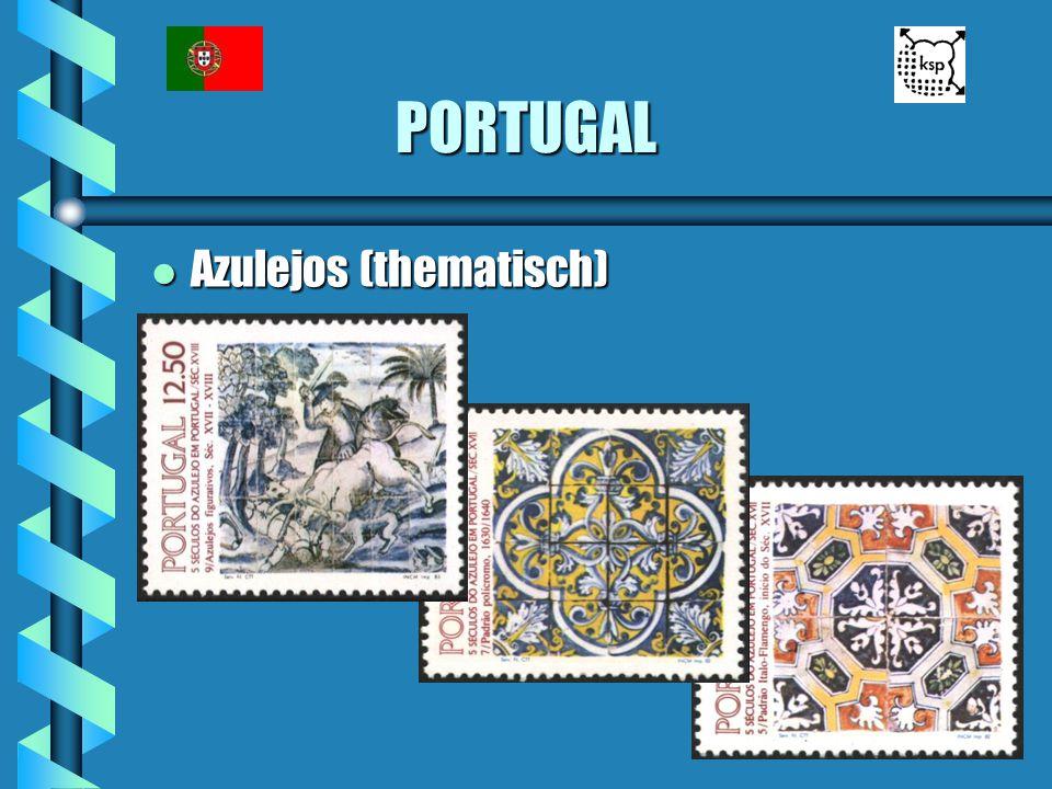 PORTUGAL Azulejos (thematisch)