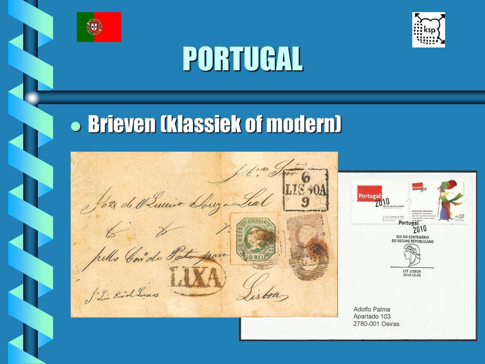 PORTUGAL Brieven (klassiek of modern)