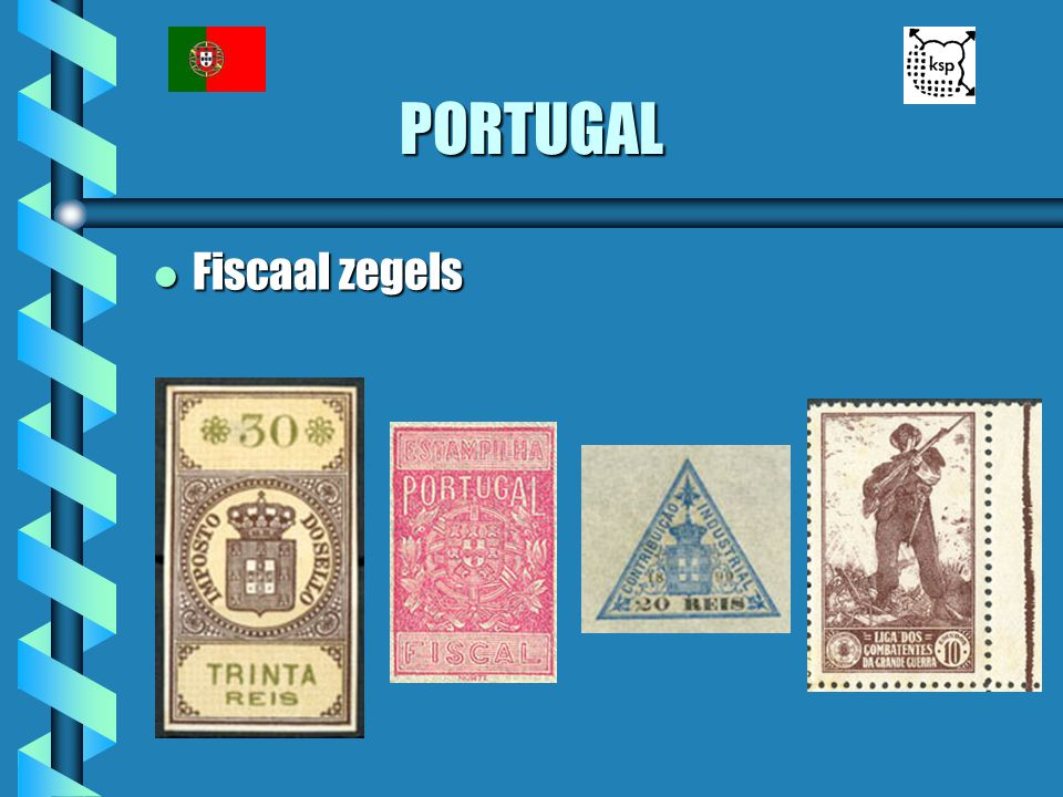 PORTUGAL Fiscaal zegels
