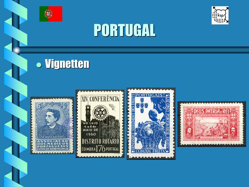 PORTUGAL Vignetten