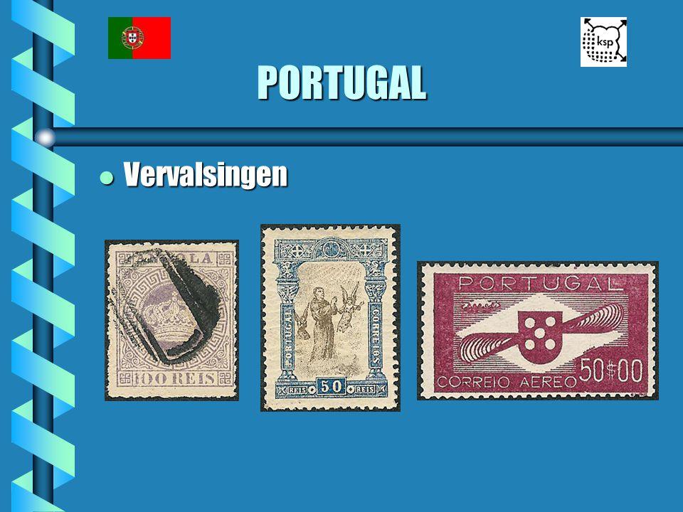 PORTUGAL Vervalsingen