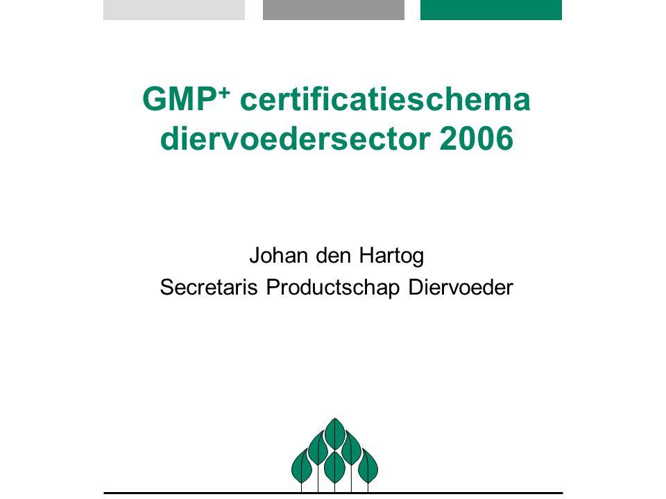 GMP+ certificatieschema diervoedersector 2006