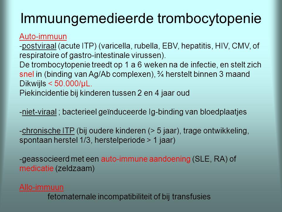Immuungemedieerde trombocytopenie
