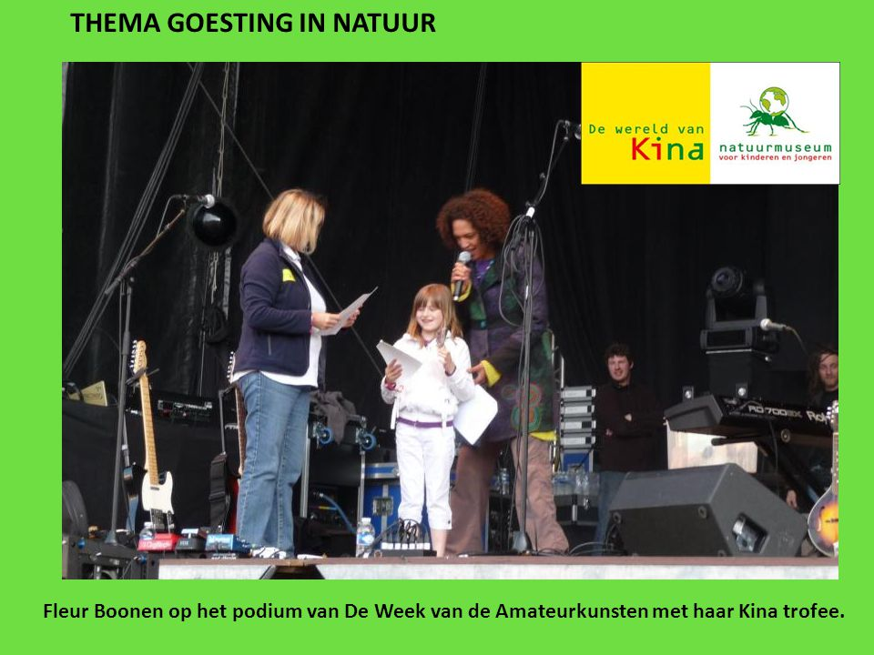 THEMA GOESTING IN NATUUR