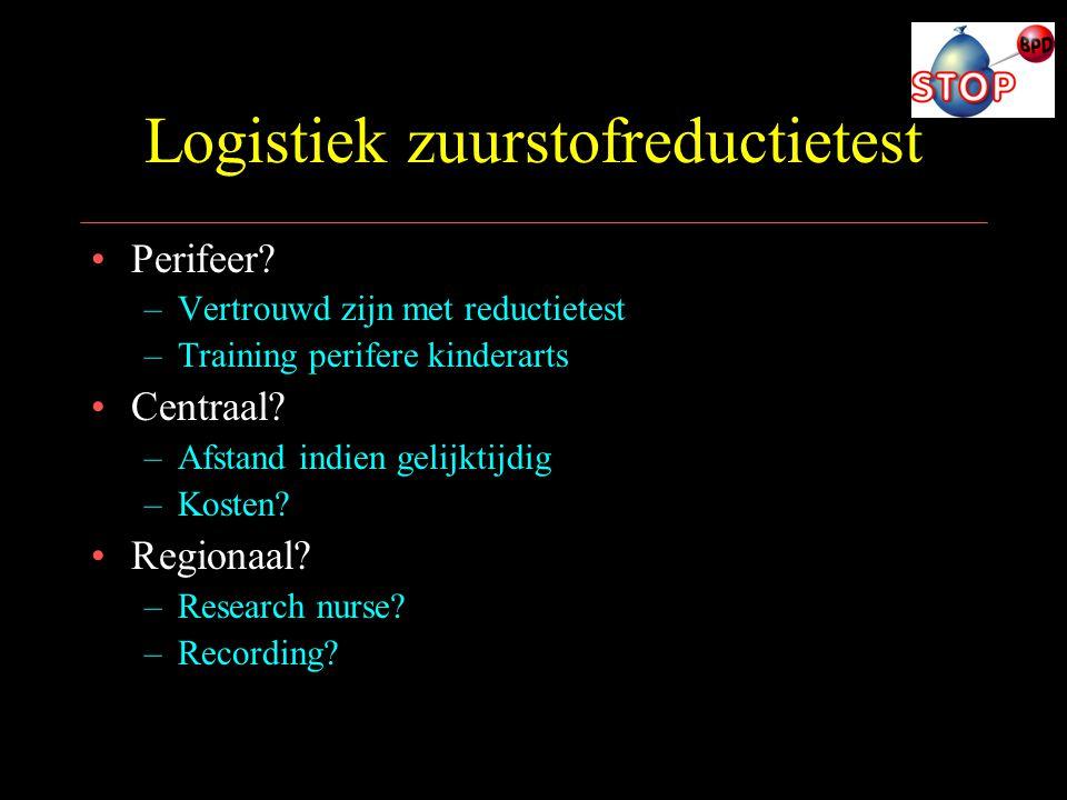 Logistiek zuurstofreductietest