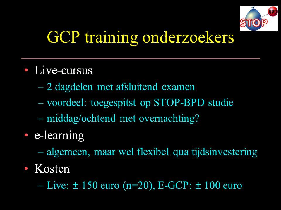 GCP training onderzoekers