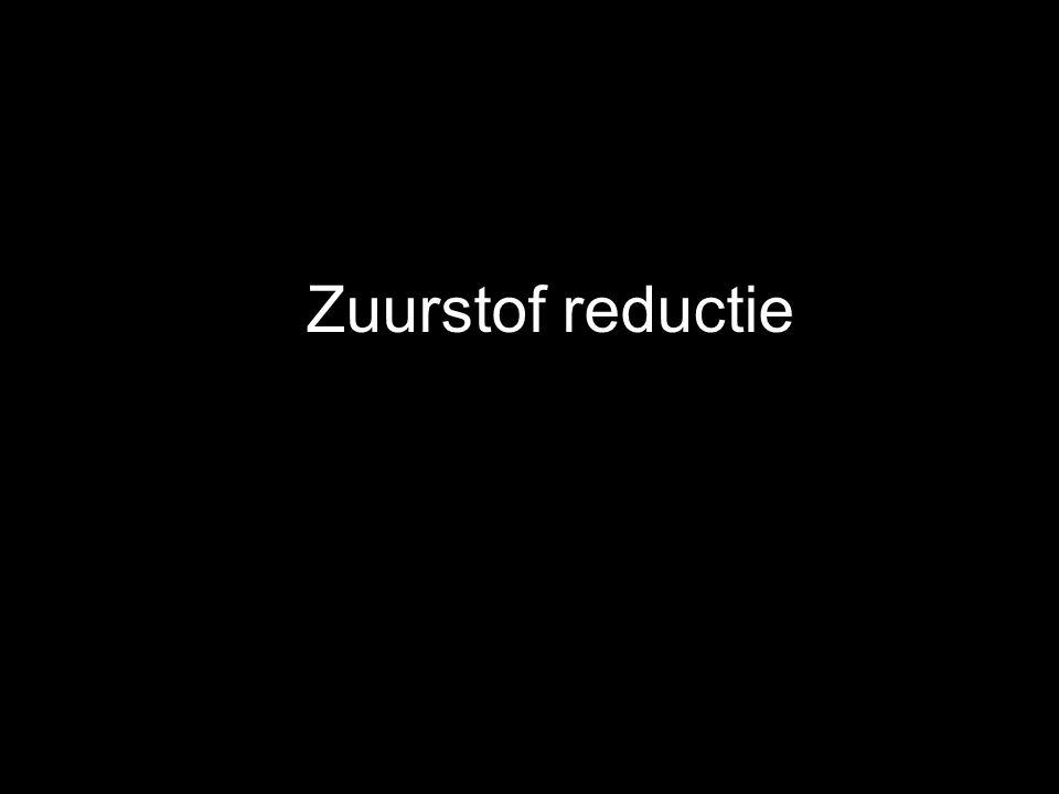 Zuurstof reductie