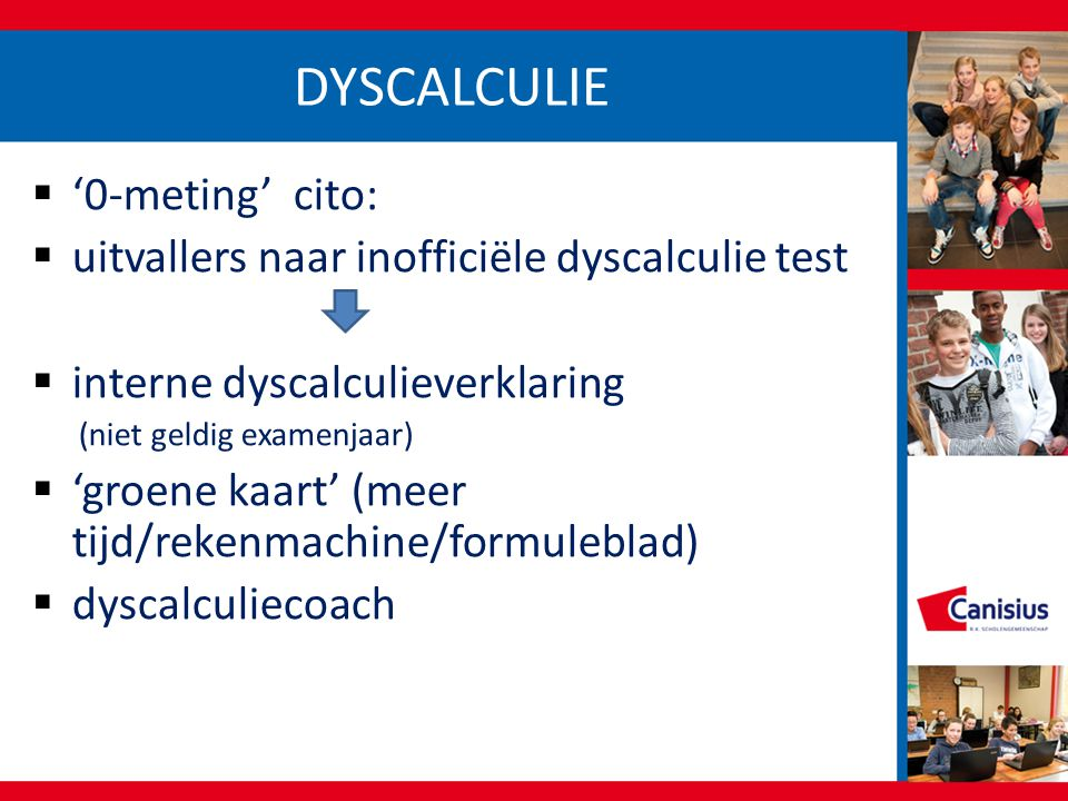 DYSCALCULIE '0-meting' cito: