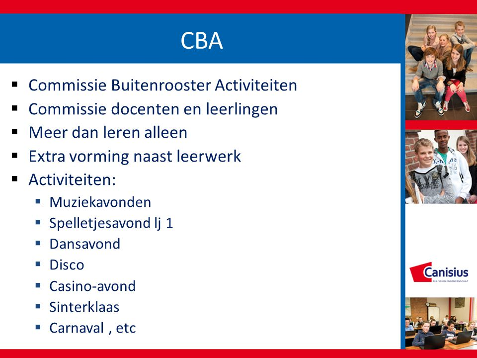 CBA Commissie Buitenrooster Activiteiten