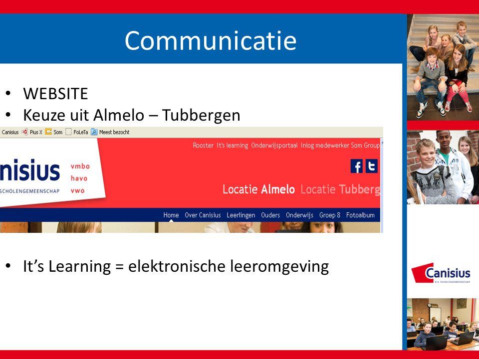 Communicatie WEBSITE Keuze uit Almelo – Tubbergen