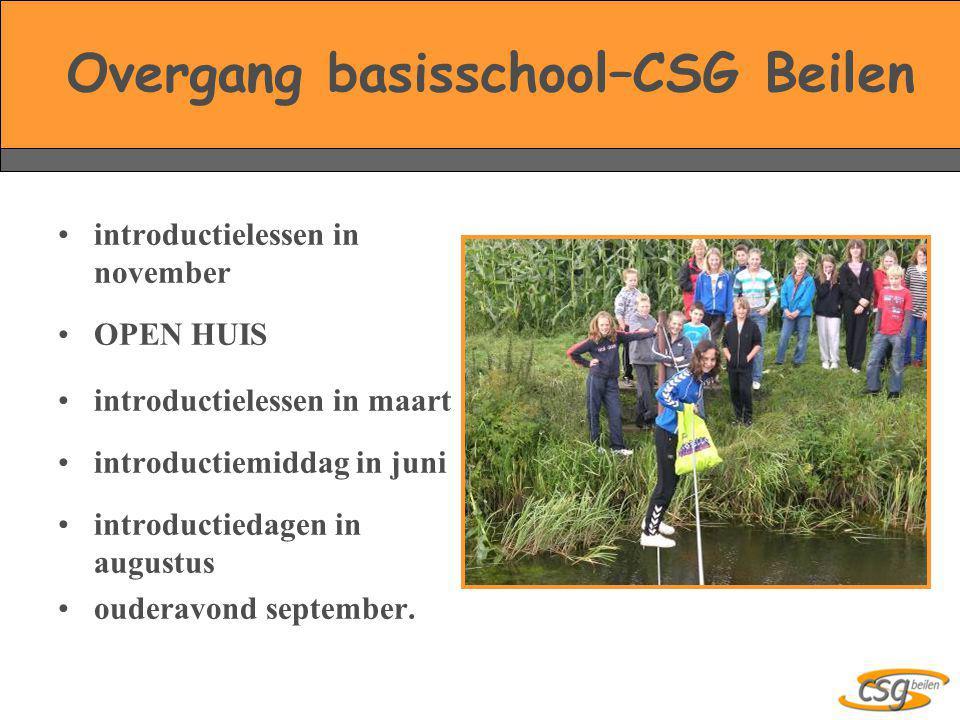Overgang basisschool–CSG Beilen