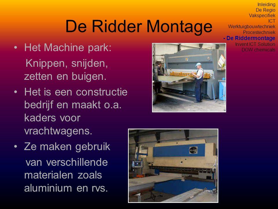 De Ridder Montage Het Machine park: