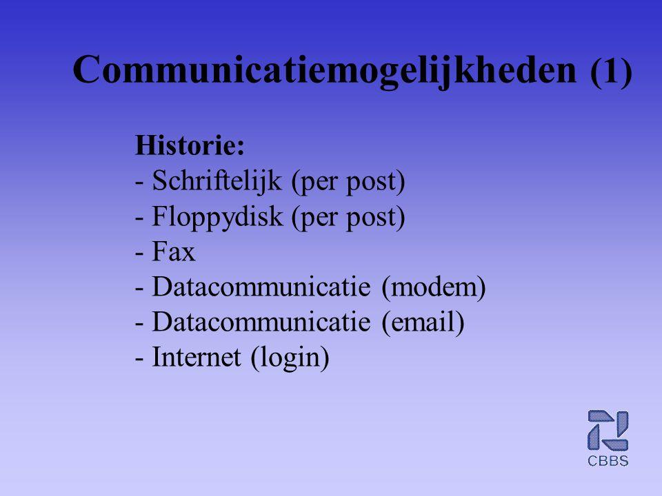 Communicatiemogelijkheden (1)