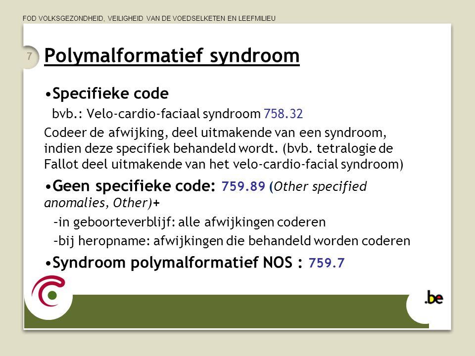 Polymalformatief syndroom