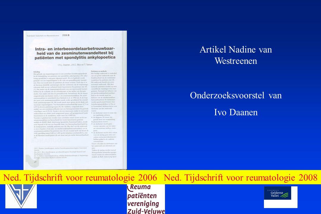 Artikel Nadine van Westreenen