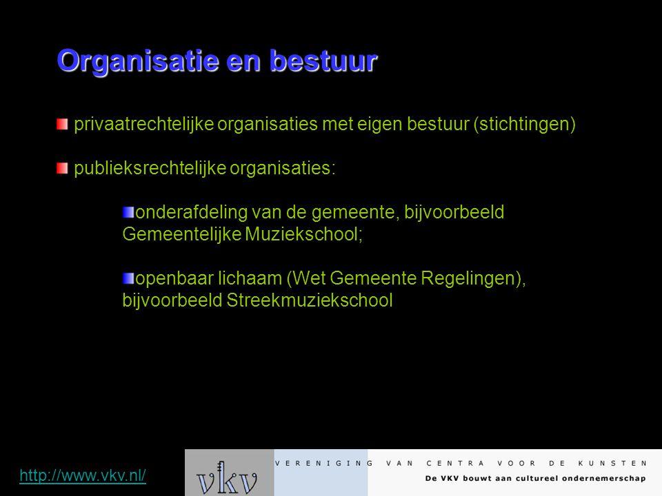 Organisatie en bestuur