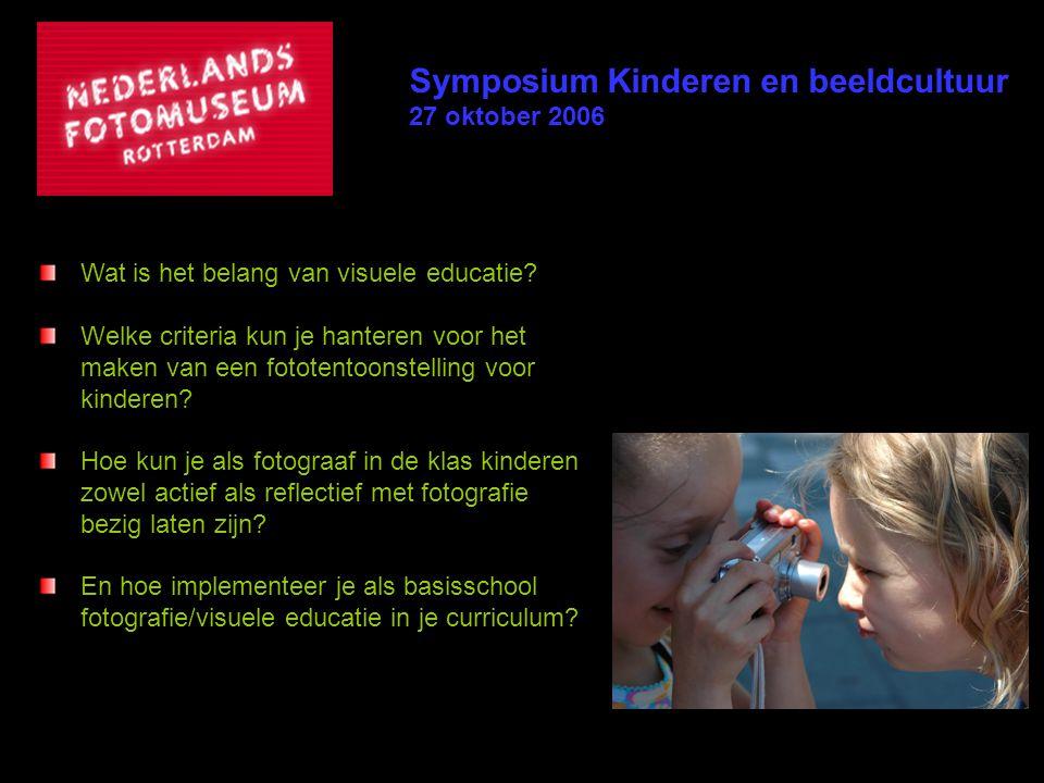 Symposium Kinderen en beeldcultuur