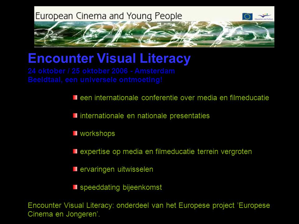Encounter Visual Literacy
