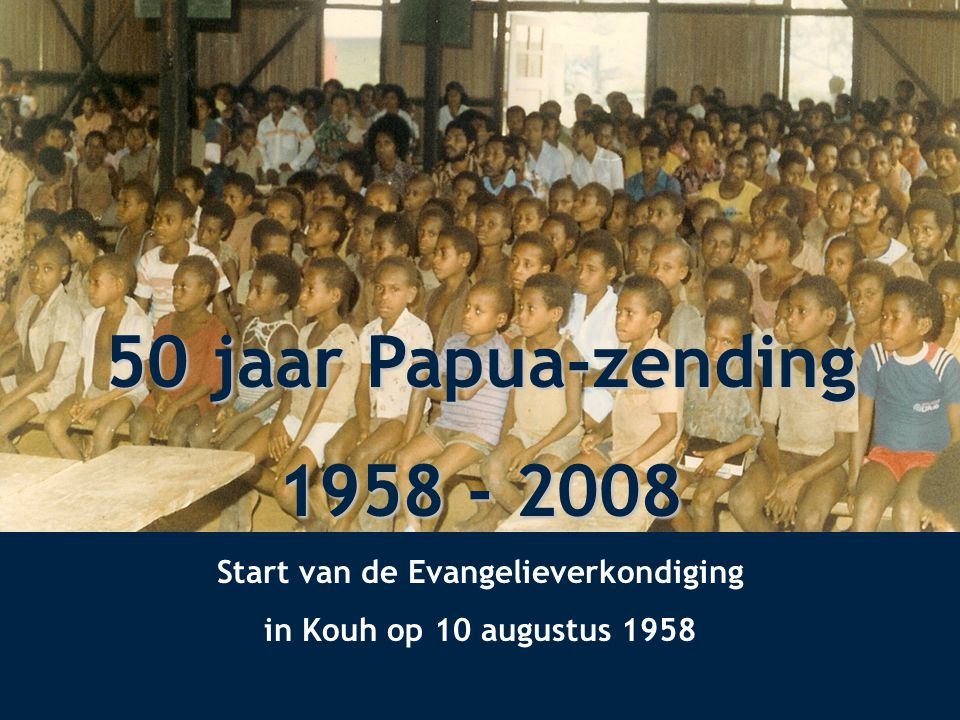 Start van de Evangelieverkondiging