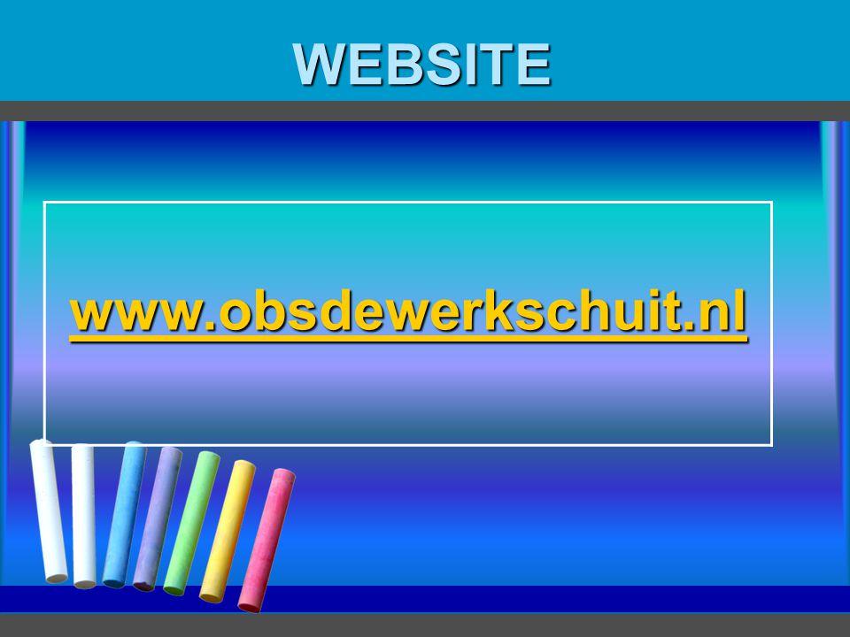 WEBSITE www.obsdewerkschuit.nl