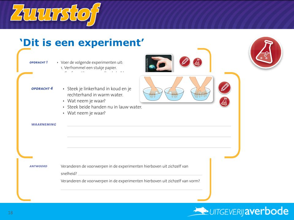 'Dit is een experiment'