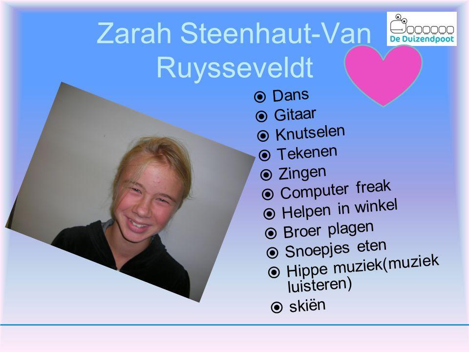 Zarah Steenhaut-Van Ruysseveldt