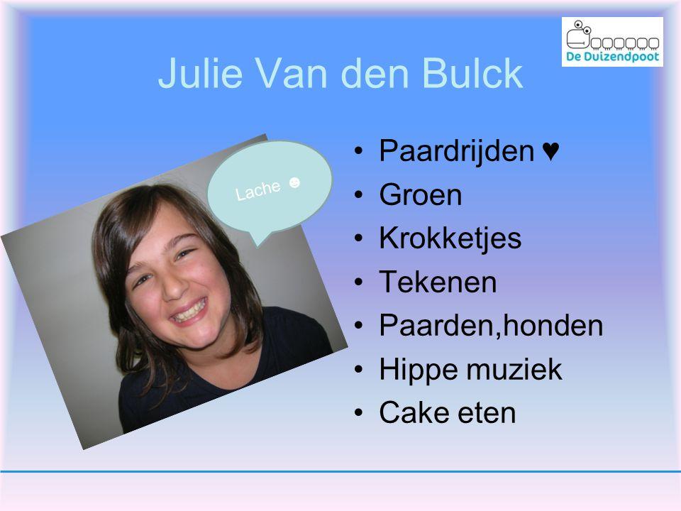 Julie Van den Bulck Paardrijden ♥ Groen Krokketjes Tekenen