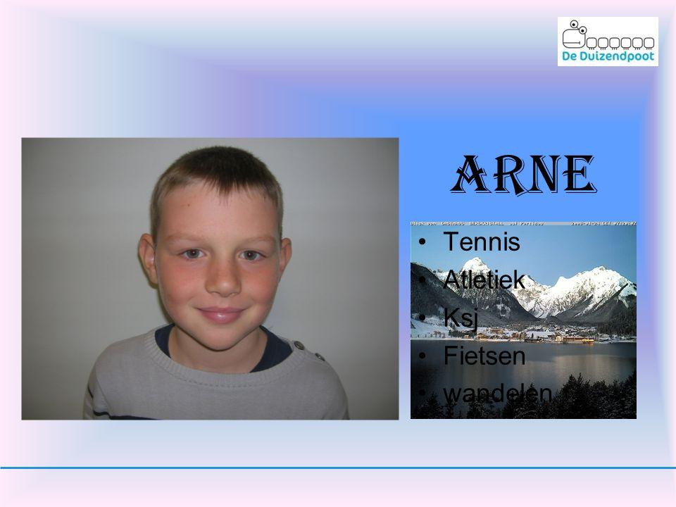 arne Tennis Atletiek Ksj Fietsen wandelen