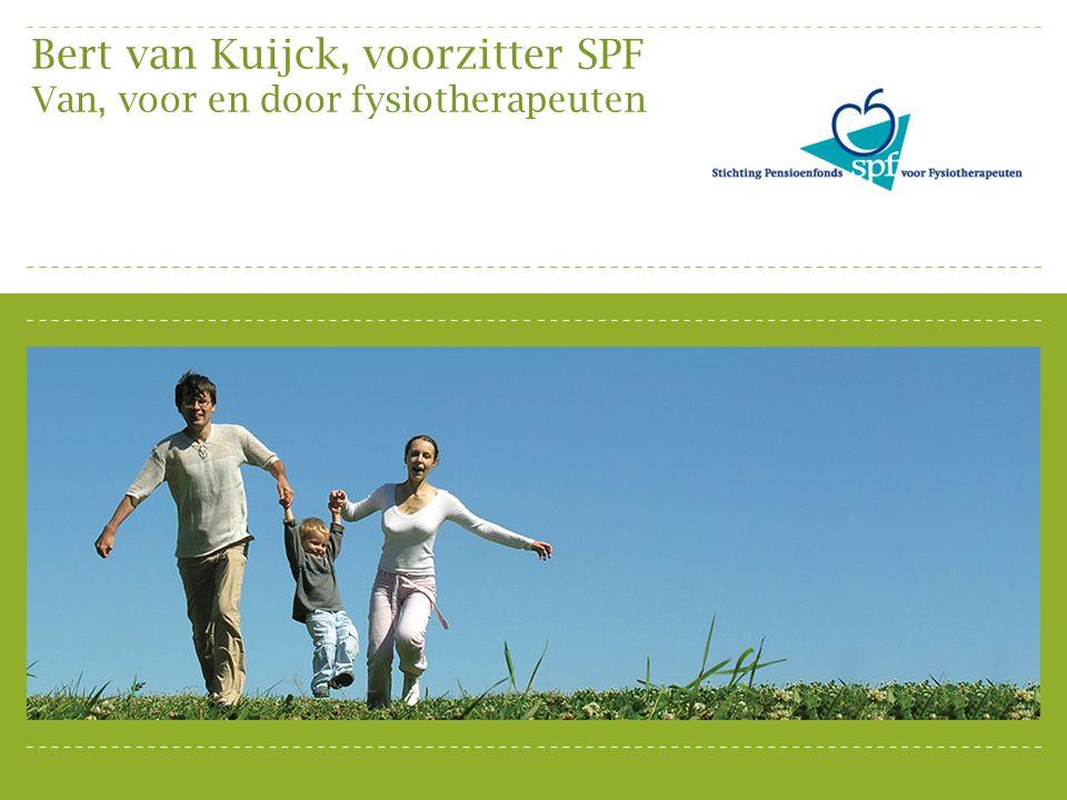 Bert van Kuijck, voorzitter SPF Van, voor en door fysiotherapeuten