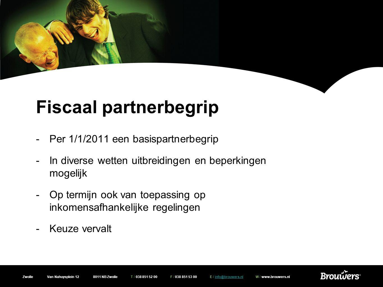 Fiscaal partnerbegrip