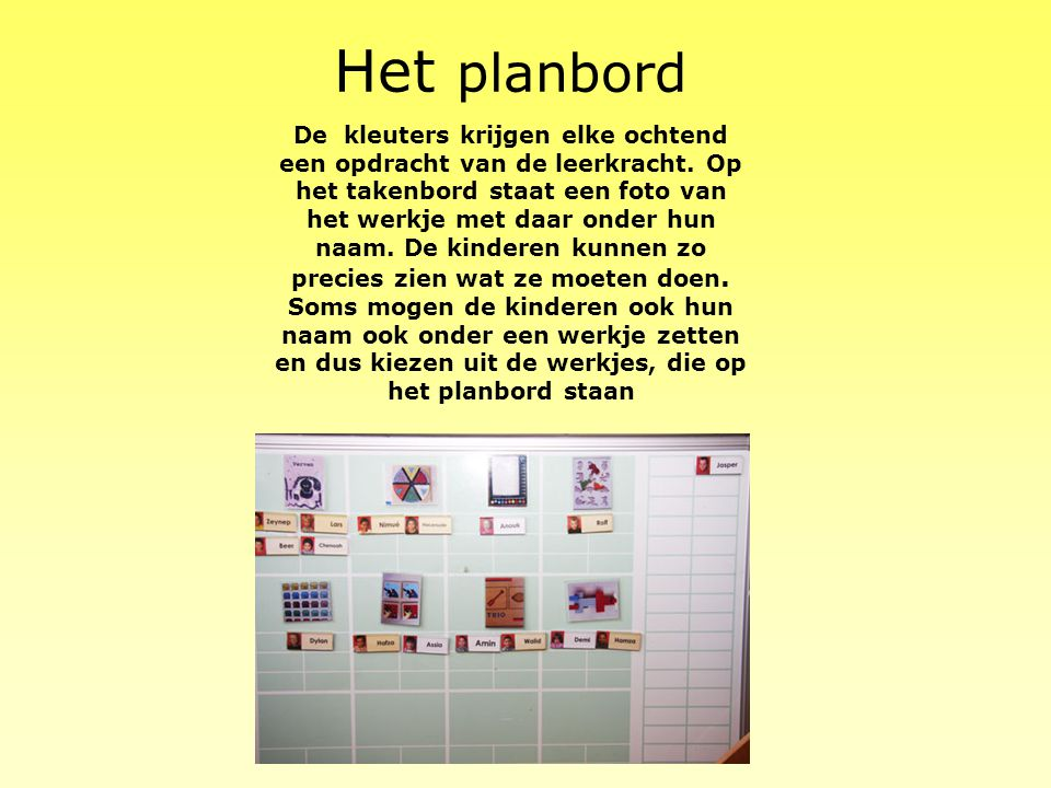 Het planbord