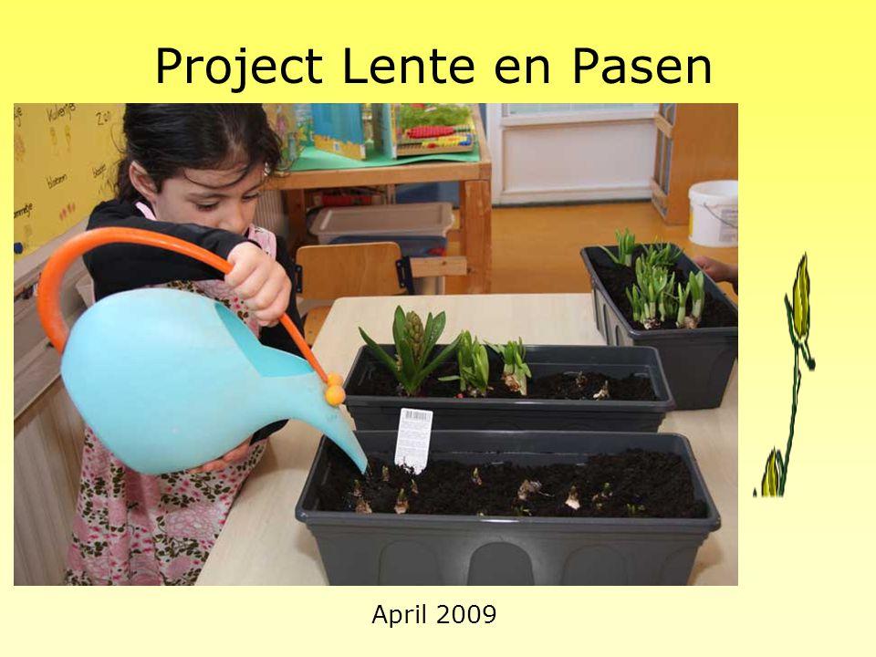 Project Lente en Pasen April 2009