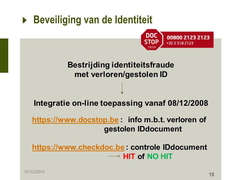 Beveiliging van de Identiteit