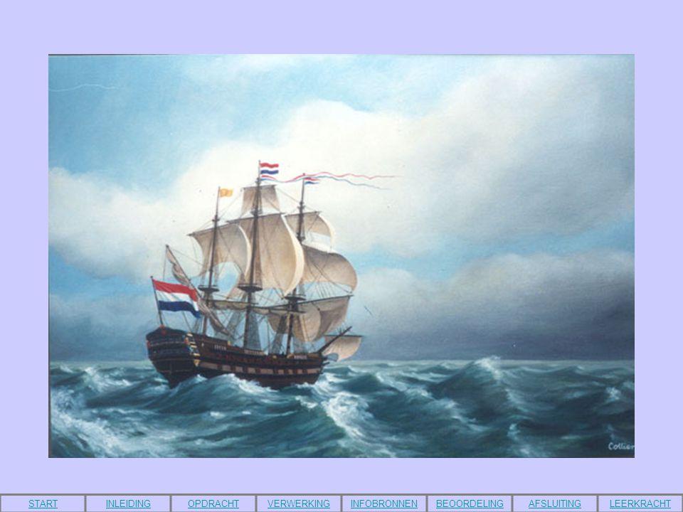 Inleiding Eeuwen geleden gingen mannen de zee op om andere gebieden te ontdekken.
