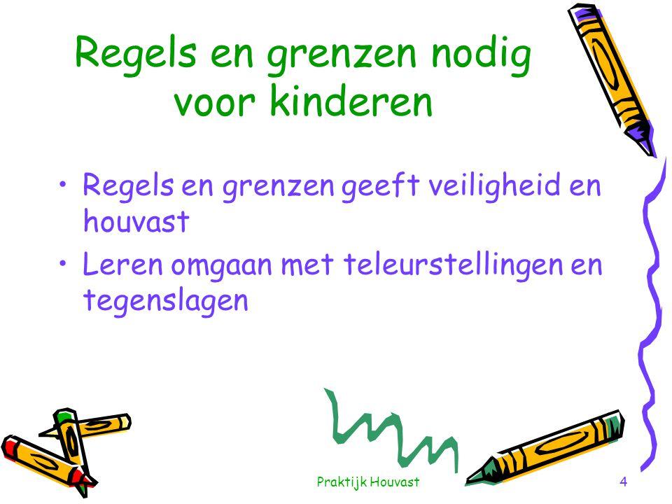Regels en grenzen nodig voor kinderen