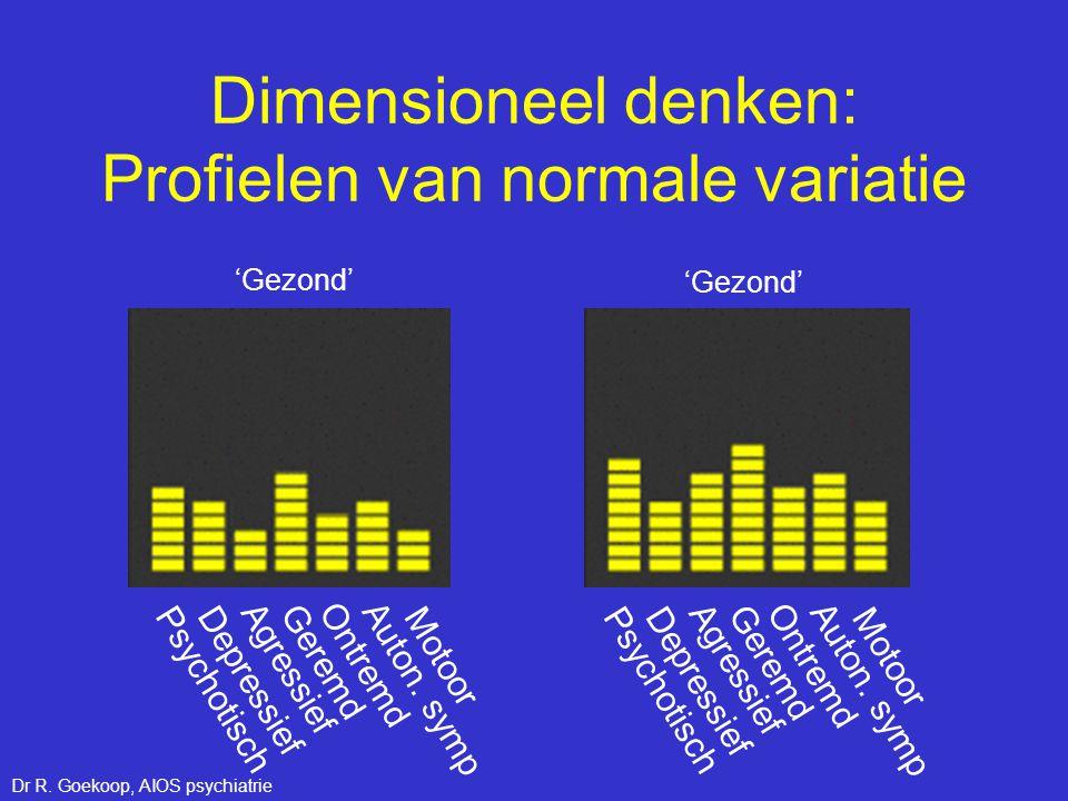 Dimensioneel denken: Profielen van normale variatie